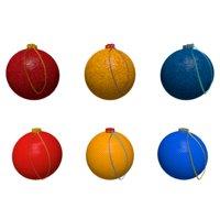 tree christmas balls model