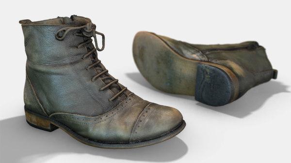 female boot model