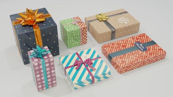 - gift 3D model