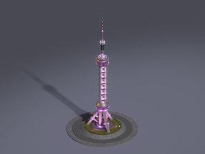 shanghai landmark pearl tower max