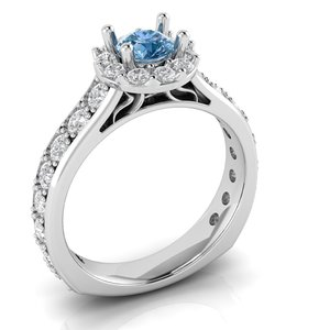 beautiful engagement ring luxury model