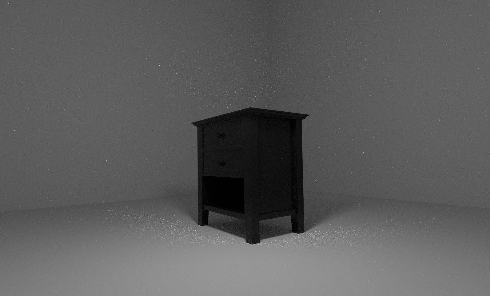 3D bedside table