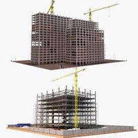construction industrial 3D model