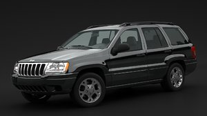 1999 jeep grand 3D model