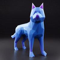 3D model husky 1