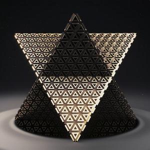 3D merkaba 1