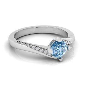 3D model ring gems