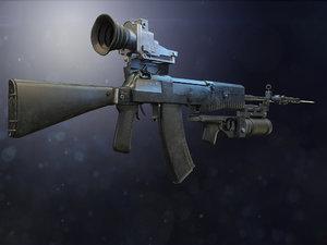 3D an-94 abakan model