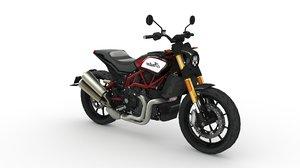 3D motorbike indian ftr 1200