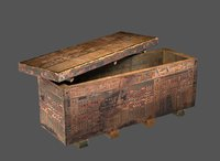 Egyptian Wood Coffin 2