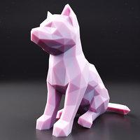 husky puppy 1 3D