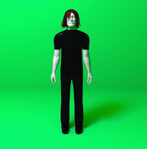 3D model norman reedus