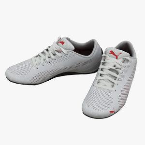 3D shoes puma model