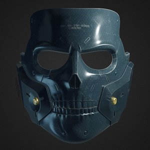 3D hardmans mask print
