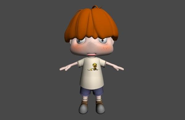 3D boy