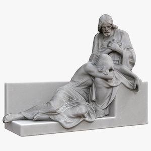 jesus woman statue model