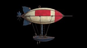airship ship air model