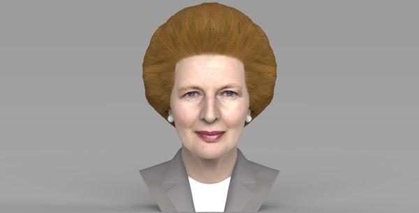 margaret thatcher bust ready model