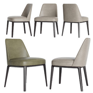 poliform sophie dinning chair model