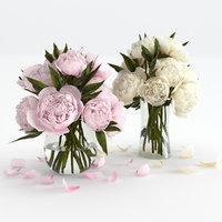 bouquet decor 3D model
