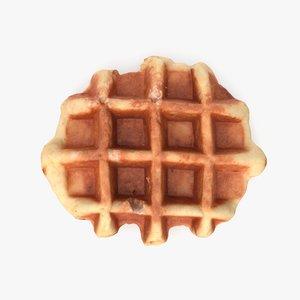 waffle pbr 3D