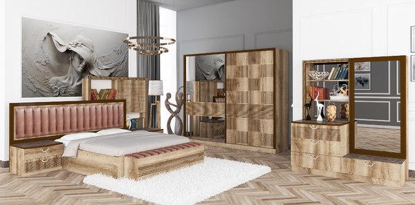 bedroom interior design 3D