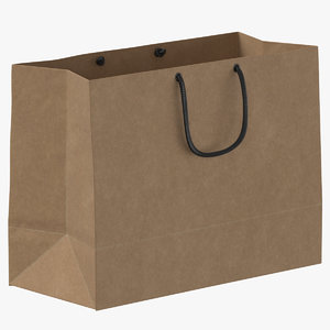recycled paper bags 01 model