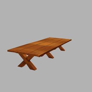 3D table tavern