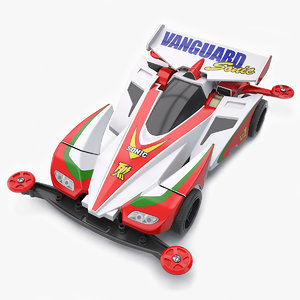 vanguard sonic chassis 3D