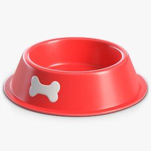 3D dog bowl 1