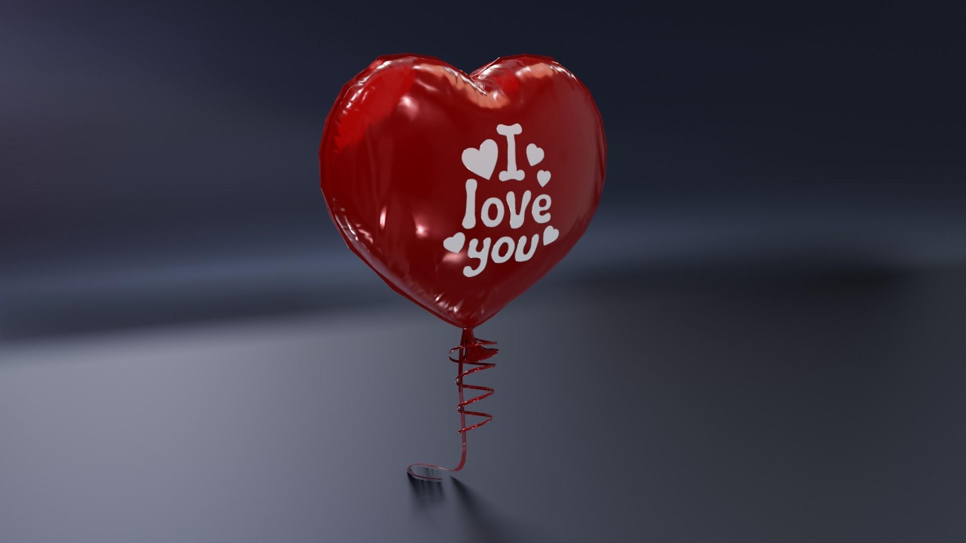 balloon heart model