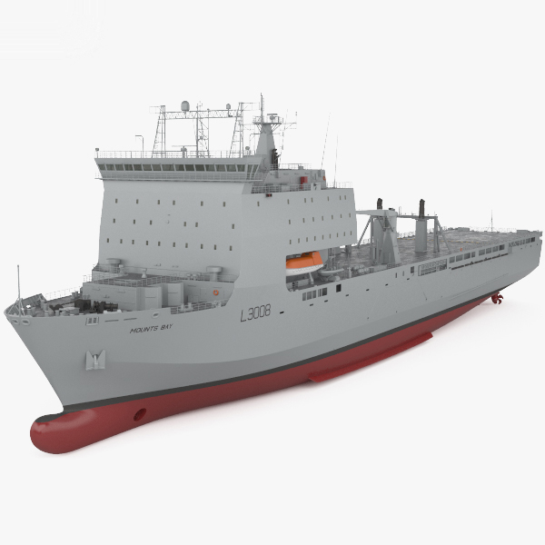 bay-class landing ship model