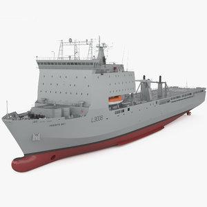 bay-class landing ship model