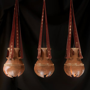 chandelier old ceiling light 3D model