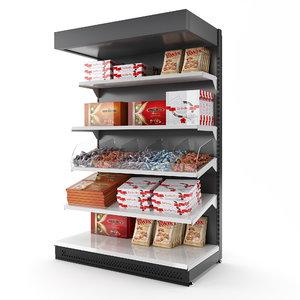 commercial rack 3D model