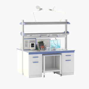 laboratory table model