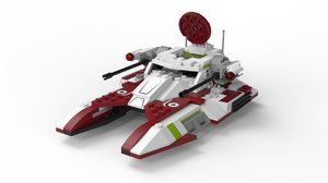lego star wars - 3D model