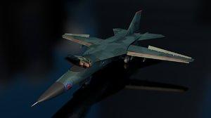 f-11 fighter jet aircraft 3D