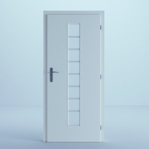 door white 3D model