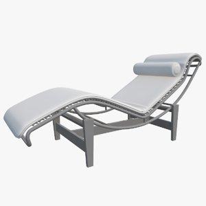 3D chair lounge