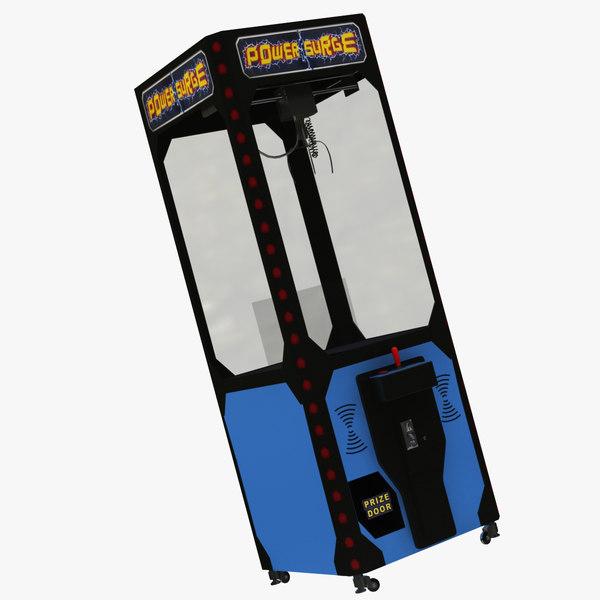 3D claw vending machine