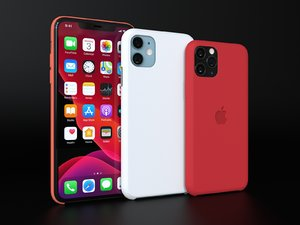 iphone 11 pro official 3D model