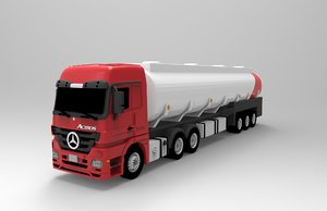 mercedes benz actros model