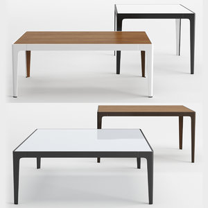 3D model table coalesse