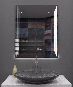 3D model illuminated mirror