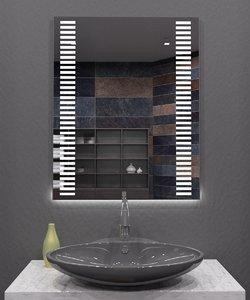 3D illuminated mirror model