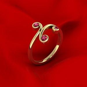 ornamental ring gems model