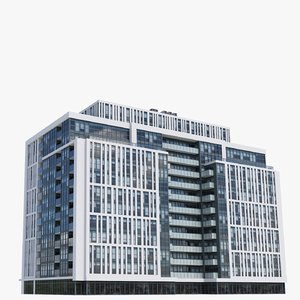 ivory adelaide buildings 3D model