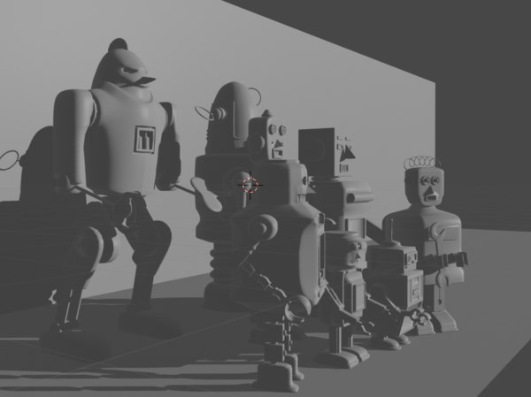 toy robots model