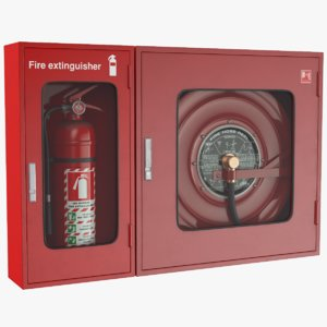 real extinguisher 3D model